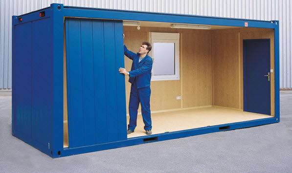 Ce contin containerele modulare