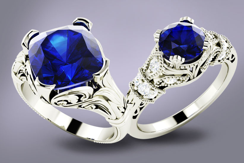 Care sunt pietrele pretioase si semipretioase albastre?