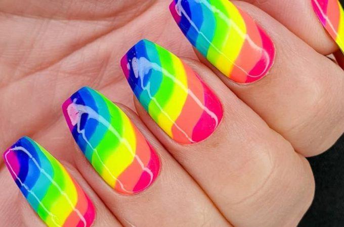 Manichiura pe care o poti incerca acasa – nail art inspirational