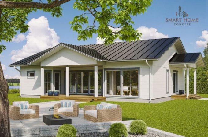 Proiectul de casă modernă – optimizat și pe gustul cumpărătorului, în oferta de la Smart Home Concept